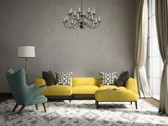 Romantic elegant living room with armchair