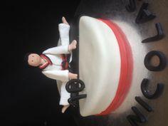 Martial arts cake