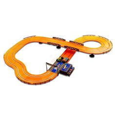 Hot Wheels Battery Operated 12 4 Ft Slot Race Track Orange