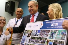 """NEWS: """"I salute you, you epitomise the human spirit and the Israeli spirit at its best!"""" - Israeli Prime Minister Benjamin Netanyahu - בנימין נתניהו applauds Paralympians #Paralympics #ElectronicsStore"""