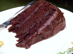 Darn Good Chocolate Mix Cake  (Melody's Notes: I used coconut oil and a sour cream chocolate frosting.)