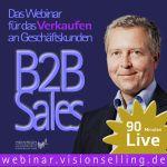 Erst per Podcast in das Thema einsteigen und dann alles weitere im Webinar vertiefen. http://52.visionselling.de