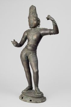 Philadelphia Museum of Art - Collections Object : Lakshmana Geography: Made in Tamil Nadu, India, Asia Date: c. 13th century Medium: Bronze Dimensions: 29 3/4 × 14 × 6 1/4 inches (75.6 × 35.6 × 15.9 cm) Curatorial Department: South Asian Art Object Location: Currently not on view Accession Number: 1994-148-63 Credit Line: Stella Kramrisch Collection, 1994