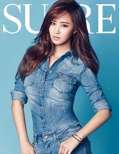Girls' Generation's Yuri Is a Healthy and Gorgeous Beauty for SURE Magazine South Korean Girls, Korean Girl Groups, Yuri Girls Generation, Snsd Yuri, Kwon Yuri, Girl Day, 1 Girl, Casual Chic Style, Korean Model