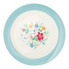 Colors for the Craft Studio ♡ NEW Clifton Rose | Clifton Rose Dinner Plate | #CathKidston