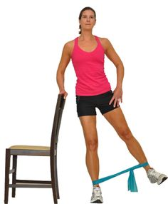 Total Body Strength Workout for Seniors: Side Leg Lifts