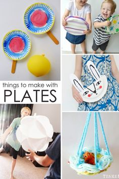 Things You can Make with a Paper Plate