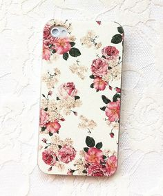 Floral iPhone 4 Case Rose iPhone 4 Case Cute by WTiPhoneCase, $14.99