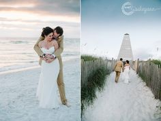 Seaside Florida Wedding Photography by Dear Wesleyann - Flight of Fancy / Defining Moments Weddings & Events