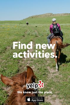 Trying to be more adventurous? We can help. Looking to try something you've never done before? We've got you covered. Whatever you're looking for, we've got a ton of great local spots lined up. With recommendations from millions of users, we know just the place.