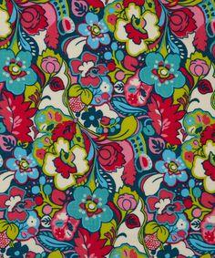 Red Catherine Cotton Craft Fabric, Liberty Art Fabrics. Shop more from the Liberty Art Fabrics collection at Liberty.co.uk