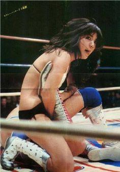 Mimi Hagiwara - Japanese Female Wrestling http://joshipuroresu.blogspot.com/2016/04/mimi-hagiwara-japanese-female-wrestling.html