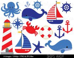 Items similar to Nautical Sailing Digital Collage Sheet Sailboat Anchor Wheel One inch Bottle Caps Digital Clipart Red White Blue Navy Tan JPG PDF Printable on Etsy