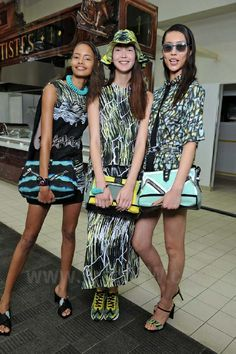 Kenzo - Ready-to-Wear - Backstage Beauty and Fashion - Women Spring / Summer 2014