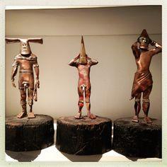 Selk'nam sculptures