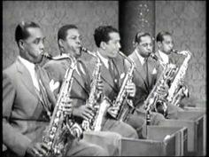 "Count BASIE & His Orchestra  "" Air Mail Special ""   The dancing is fun to watch !"