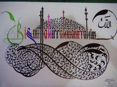 Uğur Leventoğlu, Antalya Kaligrafi, Antalya Hat Sanatı ... Allah, Arabic Calligraphy, Antalya, Tattoos, Google, Art, Craft Art, Tattoo, Kunst