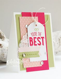 Stampin' Cards and Memories: You Can Create It! Mei
