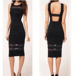 Black Pencil Dress - $55