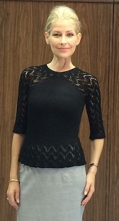 Ravelry: Rosina Pullover / Rosina Sweater pattern by FadenStille