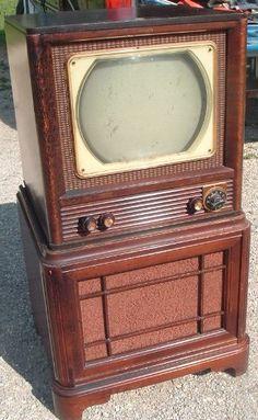Vintage 1950 philico Console Televison    #tv #television #vintage