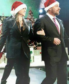 Triple H & Stephanie