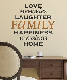 Great #Words to decorate a #home #wall with