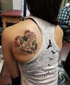 Vegan tattoo. Houston tattoo. Red dagger tattoo.