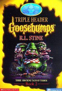 Triple Header by R. L. Stine. $0.01