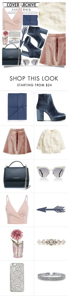 """""""#299"""" by vilte-m ❤ liked on Polyvore featuring Bynd Artisan, Carvela, Boohoo, H&M, Givenchy, Fendi, Home Decorators Collection, Dolce&Gabbana, Michael Kors and Bling Jewelry"""