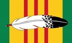 American Indian Tribal Flags - American Indian Vietnam Veteran Flag