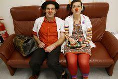 Dr. Karl Krankenschein und Dr. Rosalinde Rotz auf der #Beziehungscouch.