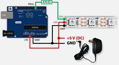 Arduino & WS2812 - Zonder computer