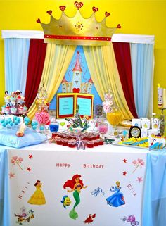 Disney Princess Birthday Party Ideas | Photo 7 of 15 | Catch My Party
