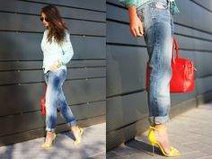 Gaastra Blouse, Diesel Jeans, Georgia Rose Heels