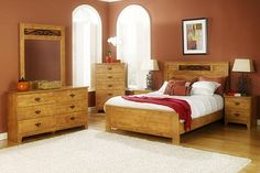 Knotty Pine Bedrooms