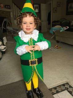 Homemade Buddy the Elf Halloween costume