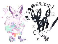 Average cup of tea artist who draws fanart. Pokemon Primarina, Pokemon Eevee Evolutions, Pokemon Breeds, Pokemon Fusion Art, Pokemon Comics, Pokemon Fan Art, Creepy Pokemon, Pokemon Cards, Pokemon Super