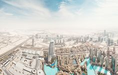 Dreaming of #Dubai – Between Illusion and Reality | http://www.designhoover.com/dreaming-dubai-illusion-reality/ #Photography
