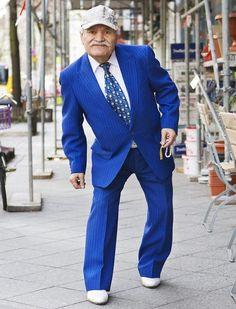 ali, o homem de 86 mais estiloso de berlim