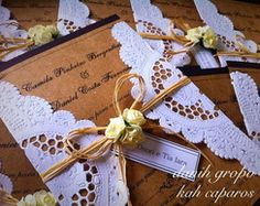 Convite de Casamento Rústico Vintage