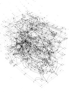 parametricworld: Aquarium (Space Metrics Diagram) by Alda Çapi Black Harvard GSD Thesis 2011