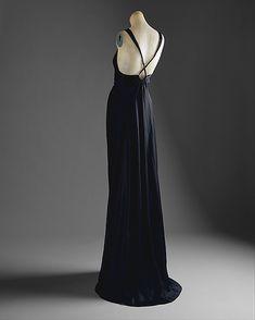 Evening dress Madeleine Vionnet  (French, Chilleurs-aux-Bois 1876–1975 Paris) Date: 1936–37 Culture: French Medium: silk