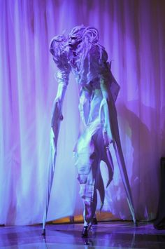 Stilt walkers are great for all events - these ethereal winter character adds real wow factor with the costume! Like the look of this? Get in touch via our website for a FREE proposal of amazing event entertainment http://www.effectiveeventsolutions.com/contact-us