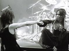 The GazettE - Aoi and Kai