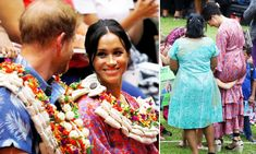 Prince Harry and Meghan Markle spend their first full day in Fiji on their royal tour Princess Meghan, Prince Harry And Meghan, The Tig, Australia Tours, Prince Henry, Royal Engagement, Fiji, Duke And Duchess, Meghan Markle