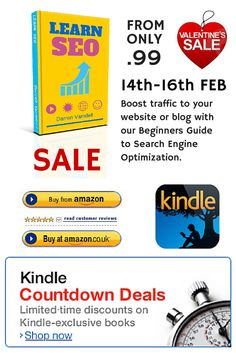 Kindle eBook version of Learn SEO http://www.amazon.com/Learn-SEO-Beginners-Optimization-Marketing/dp/1503051056/ref=sr_1_10?s=books&ie=UTF8&qid=1414893042&sr=1-10&keywords=learn+seo