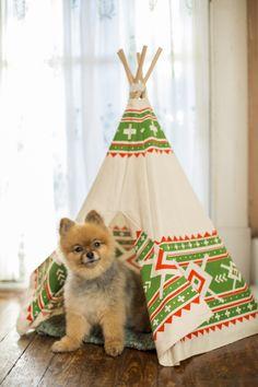 Pet Teepees www.lovelane.etsy.com