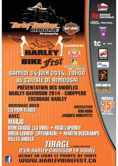 Harley Bike Fest 14 juin 2014 #Rimouski #harleydavidson http://www.harleybikefest.ca/