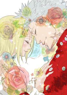 Nanatsu no Taizai,The Seven Deadly Sins, NnT,Anime,аниме,Ban (NnT),Elaine